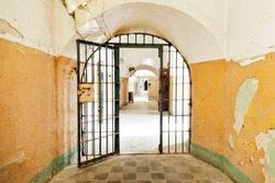 Prison open door