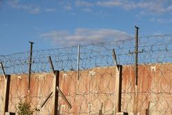 Prison or penitentiary center exterior