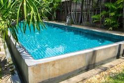 private beautiful swimming pool bali style