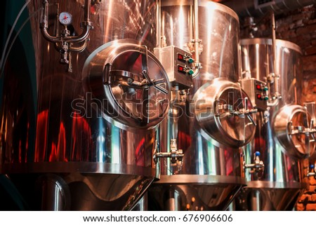 Private brewery Сток-фото ©