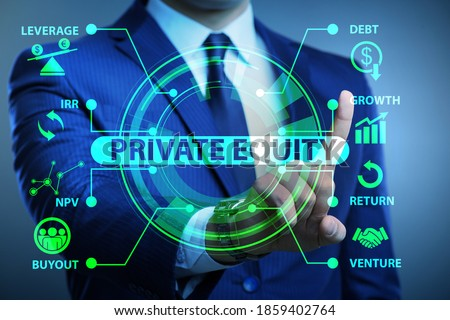 Private equity investment business concept Photo stock ©