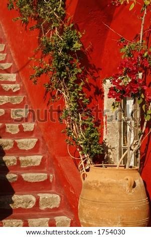 Private house in Santorini island, Greece