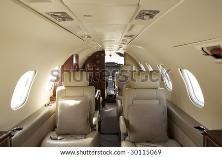 Private Jet Interior Design
