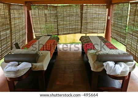 private massage area
