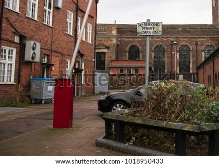 private small car park #1018950433