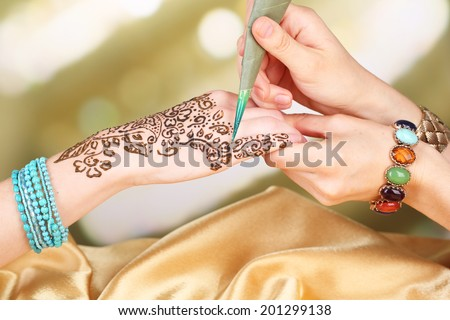 Free indian henna tattoo designs vector download free for Henna tattoo process
