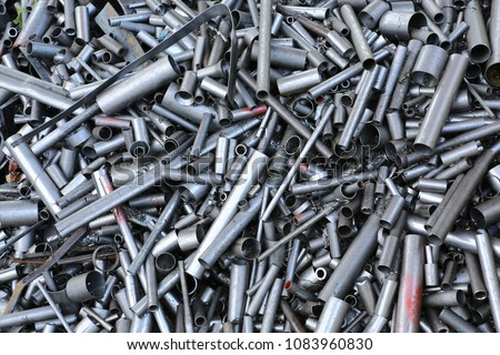 Process scrap ,Steel pipe scrap , one of raw material for  EAF ,Thailand