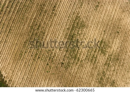 PROCESSED AGRICULTURAL LAND FROM ABOVE