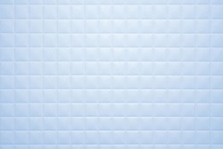 Product background Simple blue tile texture in the bathroom