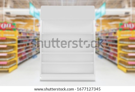 Product Display Stand 3d Illustration