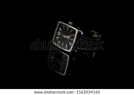 Product photography of a watch