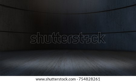 Product showcase spotlight background,empty room.3D rendering