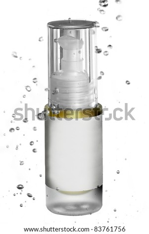 Product water splash - stock photo