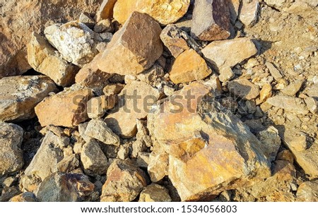 Production of graphite. Industrial background. The rough structure of the mineral. #1534056803