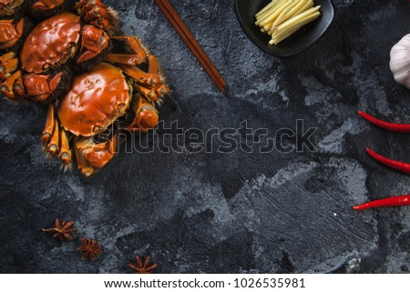 Production of hairy crabs
