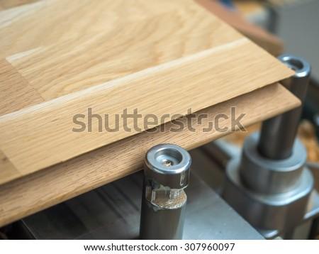 Production of oak wood furniture