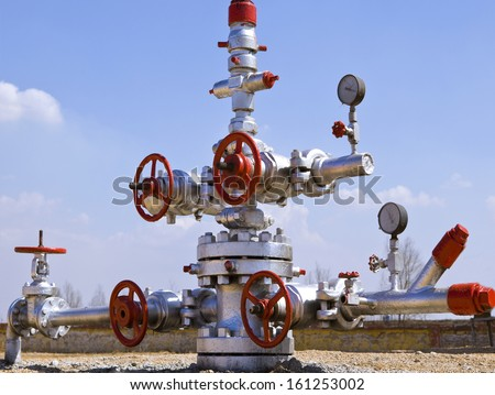 production wellhead  #161253002
