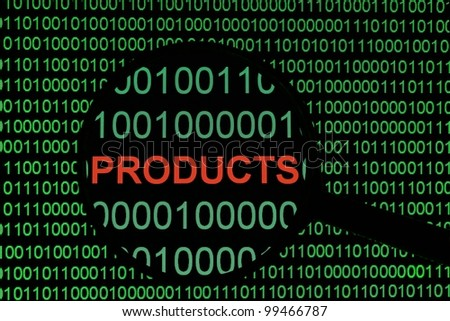 Products - stock photo