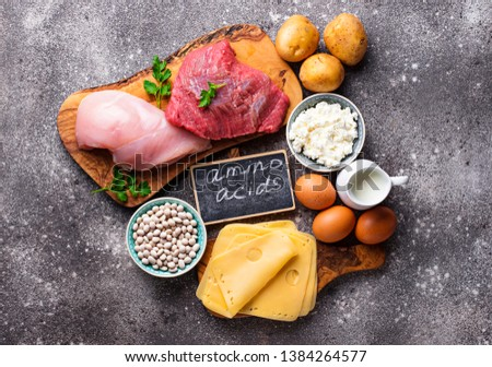 Products rich in amino acids.  Protein sources and food for bodybuilders #1384264577