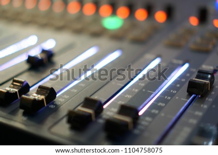 Free photos Blurred audio console in radio studio | Avopix com