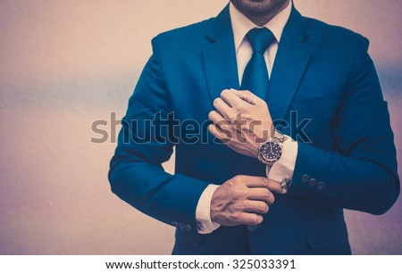 professional businessman in a...