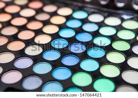 Professional Eyeshadow makeup background