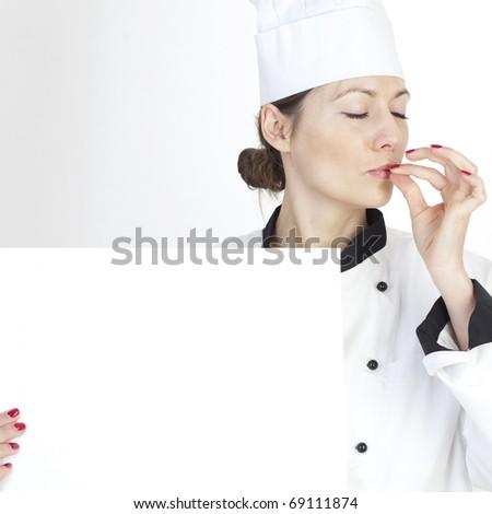 Professional Female Chef