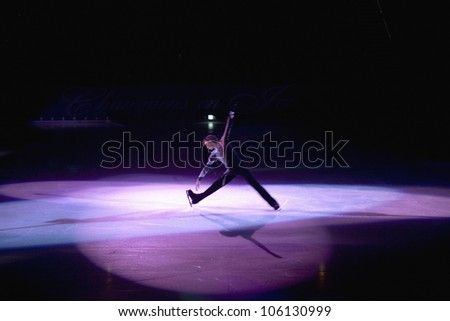 Professional ice skater performing from Champions on Ice, May 27, 2007 at Staple Center, Los Angeles, California