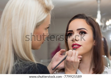 professional make up artist...
