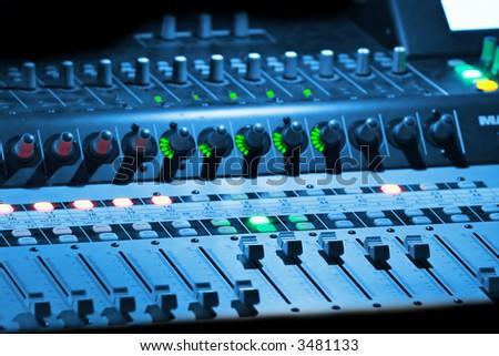 Professional music mixer #3481133