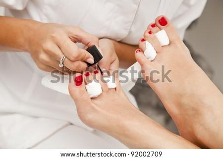 Professional pedicure