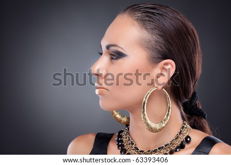 cleopatra makeup. Cleopatra style makeup