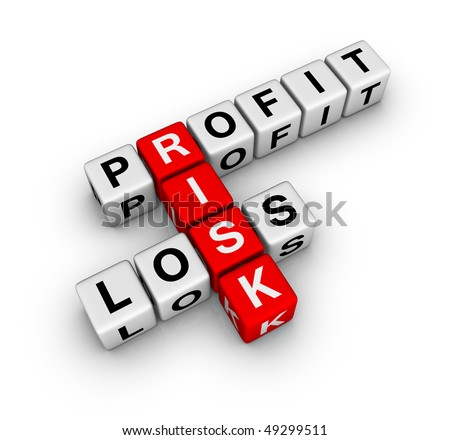 profit, loss and risk ( red-white crossword series)
