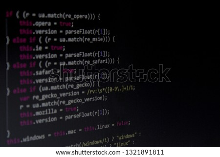 Program code or code snippet #1321891811