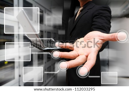 Programmer and Link button on finger