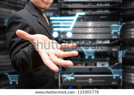 Programmer take control the on line shopping cart