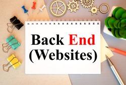 Programming of Internet website. Developer occupation work photo. Webdesigner Workstation. WWW software development. Programming code. Coding cyberspace concept.