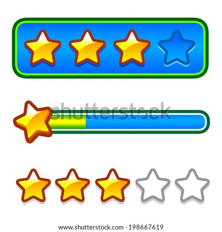 stock-photo-progress-bar-with-stars-for-