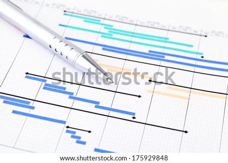 Project plan Stock foto ©