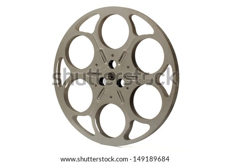 projector reels on white background #149189684