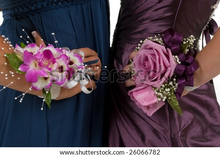 Prom or wedding corsages