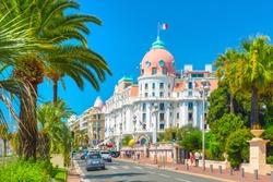 Promenade des Anglais in Nice (Nizza), France