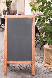 Promotion chalk board