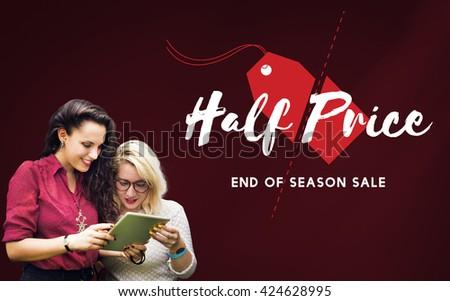 Promotion Discount Sale Retail Shopping Concept