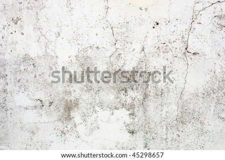 Pronounced cracks in a wall with extra textures