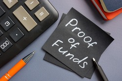 Proof of funds memo about wealth and taxation.
