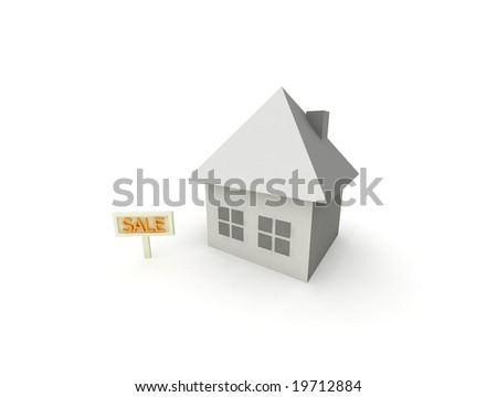 property for sale - stock photo