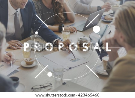 Proposal Offer Asking Action Project Solution Concept