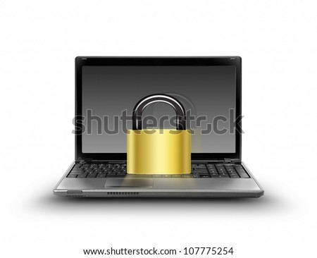 protect your computer, security concept
