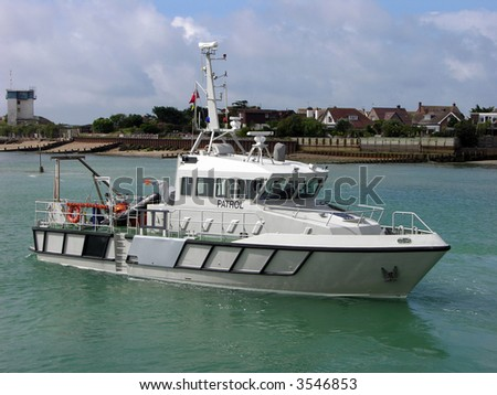 Protecting our shores a Naval patrol boat